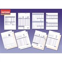 Sage Compatible Pay Advice Laser or Inkjet W210xH297mm Ref SE95 [500 Forms/1000 Payslips]