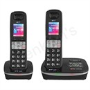 BT 8500 DECT Twin Telephone Answer Machine Cordless SMS 200-Entry Directory 30 Redials Ref 51949