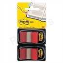 Post-it Index Flags 50 per Pack 25mm Red Ref 680-RDEU [Pack 2]