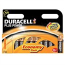 Duracell Plus Battery Alkaline 1.5V AA Ref MN1500 [Pack 12]