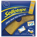 Sellotape Sticky Hook Strip 25mmx12m Yellow Ref 1445179