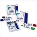 Initiative Drywipe and Flipchart Marker Xylene Free Water Resistant Black