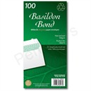 Basildon Bond DL Envelope White Cello-Wrapped 100gsm, Pack 100