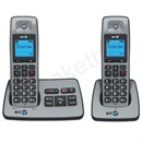 BT 2500 Twin Handset DECT Telephone Cordless Answering Machine Ref 66059