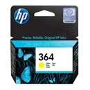 HP No. 364 Ink Cartridge Page Life 300pp Yellow [for D5460] Ref CB320EE