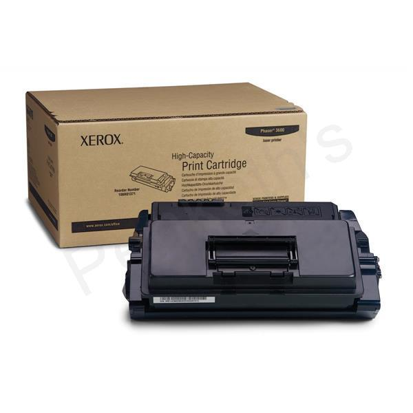 Xerox Toner High Yield Page Life 14000pp For Phaser 3600 Black Ref 106R01371