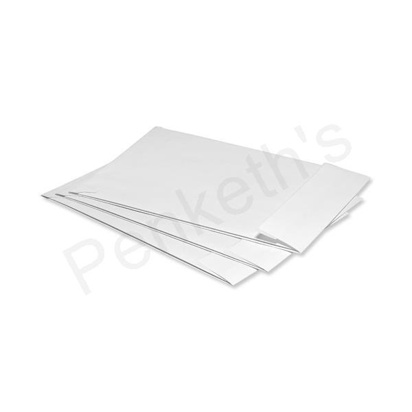 5 Star Envelopes Window Peel and Seal Gusset 25mm C4 White [Pack 125]