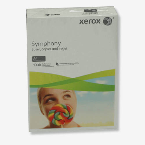Pack of 250 Xerox 160gsm A4 Symphony Card Pastel Blue