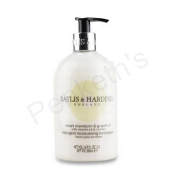 Baylis and Harding Liquid Soap Hand Wash Refill 500ml Mandarin and Grapefruit Ref VBHBMHWMG