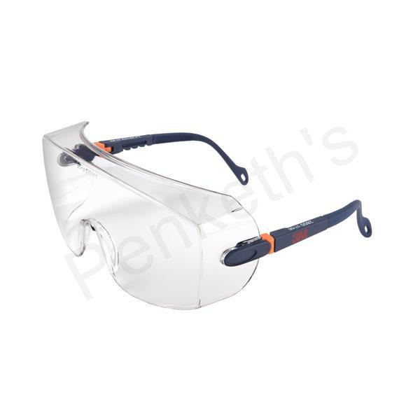 3M Classic Line Over Safety Spectacles Optical Class 1 Impact Resistant Brow Guard Ref 2800 CLO