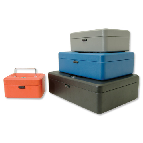 Helix Value Cash Box 8in Red Code WN7060