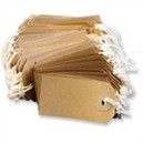 Strung Tag 120x60mm Buff (Pack of 1000) KF01600
