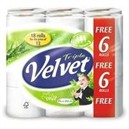 Triple Velvet Toilet Roll Pack 18 White Code KSCATV18