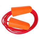 Corded PU Foam Ear Plug Orange Pack 200